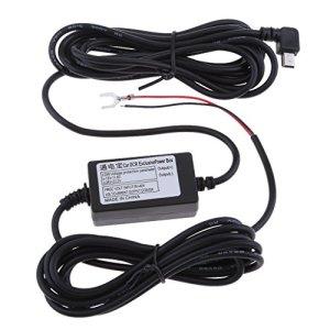 MagiDeal Kits De Hardwire De Voiture Dash Cam 8 / 36v à 5v 3a USB Mini Câble D'adaptateur De Coude Gauche