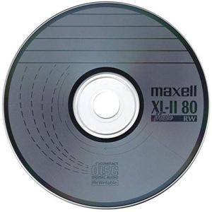 Maxell Lot de 50 disques Vierges Anti-Rayures pour CD-RW XL-II