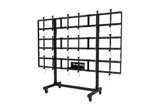 NEC pd02vwm 3 x 3 46 55 L Mobile videowall Trolley F