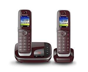 Panasonic KX-TGJ322GR Téléphones sans Fil Répondeur Ecran [Version Allemande]