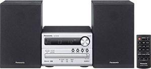 Panasonic Micro HiFi System SC-PM250EG-S (20 Watt RMS, CD, Radio UKW, Bluetooth) Argent