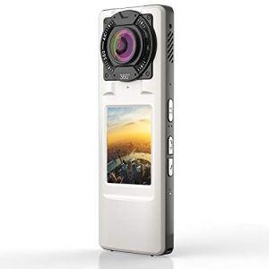 QAS 720 caméra panoramique 360 ° HD 4K qualité Double caméra,Blanc,A