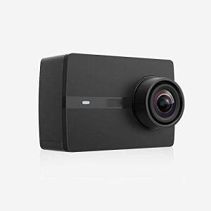 QAS Caméra de Sport – Caméra vidéo numérique HD Intelligente – Caméra de télécommande électronique de plongée extérieure Anti-Shake,Noir,A