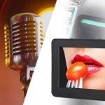 Socobeta Téléviseur Portable Téléviseur analogique numérique 7 Pouces DVB-T-T2 800×480 Résolution 110-240V