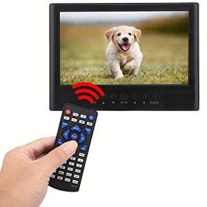 Sutinna TV Portable USB, avec Fente pour Carte TF, TV numérique, Haut-parleurs Avant pour l'extérieur pour la Maison,