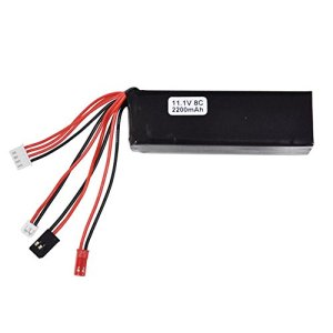 tomation 11.1V 2200Mah 8C Lithium Battery – pour JR Remote Controller – pour Walkera Devo7 / Devo10 / Wk-2801Pro / Wk-2603 / Wk-2402D Transmetteur RC