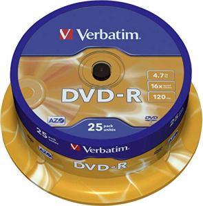 Verbatim (43522) : DVD-R 16x 25-pack : Optical Media