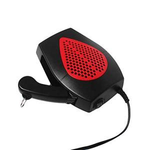 Vosarea Radiateur et Ventilateur Soufflant Chauffage Électrique Voiture Portable 24V Rouge