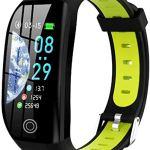 XXCLZ Smart Bracelet, Fitness Tracker, 1,14 « Sports Waterproof Watch, avec Le Sommeil/Sang Pression Moniteur Smart Bracelet Wristband avec GPS,A