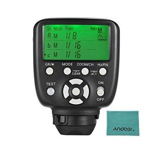 Yongnuo YN560-TX II manuel Flash Trigger envoyeur pour appareil photo Nikon DSLR LCD ?yn560iii/yn560iv/yn660/yn968N/yn860li Speed Lite Récepteur RF 602/rf603/rf603II/rf605