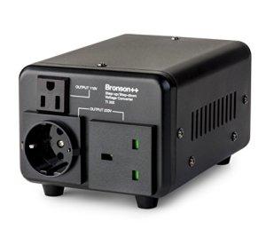 Bronson++ TI 300 – Transformateur 110 Volts – Troïdal Core USA Converter 300 Watts entrée/Sortie réversible Bronson 110V 300W