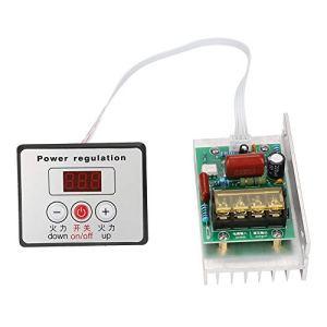 Contrôleur de vitesse du moteur 8000W AC 220V Régulateur électronique numérique Contrôleur de vitesse SCR haute puissance pour Contrôle de vitesse Variateur Thermostat