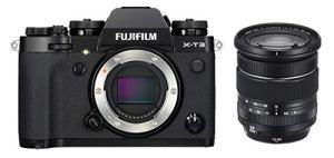 Fujifilm X-T3 Appareil Photo numérique avec Objectif stabilisateur d'image Optique Fujinon XF16-80mmF4 R WR Noir