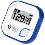 GolfBuddy Golf Buddy Voice 2 Voice4 GPS Parlant Facile à Utiliser Multicolore, Mixte, Blanc/Bleu
