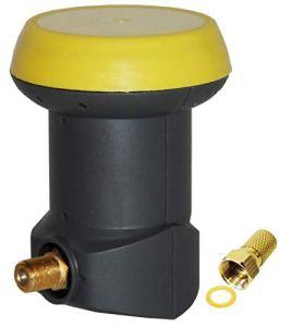 Humax Gold Single LNB LNB Satellite numérique Universel avec Filtre LTE Tête LNB 1 Sortie