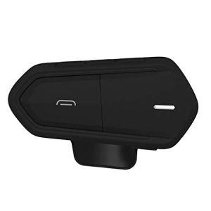 JUNESUN 1Set Imperméable Basse Consommation QTB35 Moto Casque sans Fil Bluetooth Casques Écouteurs Écouteurs Accessoires