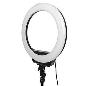 KX-YF Appareil Photo Kit éclairage vidéo 16 Pouces LED Light Ring Fill Light Anchor Diffusion en Direct Selfie Lampe beauté téléphone Mobile Fill Light Photographie Photo Noir Téléphone pour Selfie