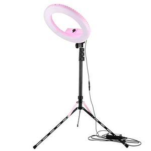 KX-YF Appareil Photo Kit éclairage vidéo Ring LED Photographie Fill Light Beauté Lampe Maquillage Anchor Lampe en Direct de Diffusion Holder Set Multicolor en Option Téléphone pour Selfie