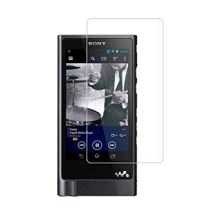 (Lot de 4) anti-explosion Films de protection d'écran pour Sony Walkman Nw-zx2Nw-zx1, une couverture complète haute définition Ultra Thin anti-rayures pour écran