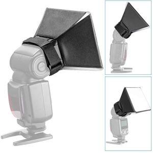 ruiruiNIE Universal Pliable Flash Softbox Diffuseur Appareil Photo Photo Flash Dispositif Softbox Kit Outil pour Nikon Canon