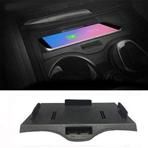 Support de téléphone de support de support mobile de chargeur sans fil Qi de voiture pour B-M-W 5 Serie F10 G30 GT G38 G32 2018 2019,G30 530i 540i