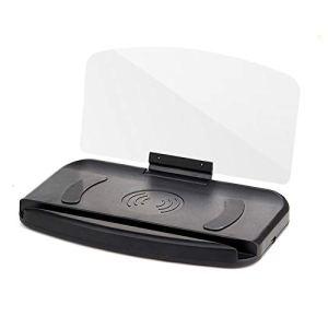 THNQ Auto Voiture Universel GPS Accessorie Head Up Navigation Display Phone Support à projecteur.Ornements et Pendentif Voiture (Color Name : with Slow Charging)