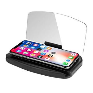 THNQ Auto Voiture Universel GPS Accessorie Head Up Navigation Display Phone Support à projecteur.Ornements et Pendentif Voiture (Color Name : Without Charging)