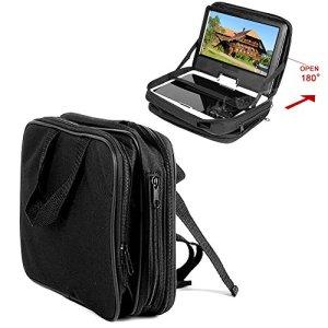 7″ 7.5″ 7.8″ DVD Lecteur Portable Voiture Appui-tête Support Housse Transport Sacoche Protection