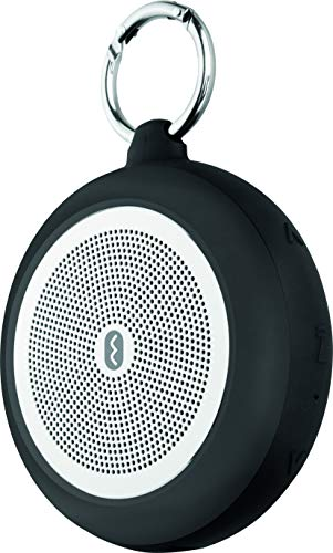 ECG BTS S1 Black Enceinte Bluetooth – Carte Micro SD MP3 WMA, Ape, FLAC; Autonomie de la Lecture : 7 Heures ; Main Libre ; Résistance à l'eau ; Subwoofer Passif Noir