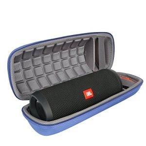 Étui de transport rigide pour JBL Flip 4étanche Haut-parleur portable Bluetooth par Co2crea Size 3 -Blue