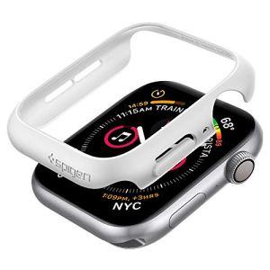 Spigen Thin Fit Compatible avec Apple Watch Coque pour 44mm Series 6 / Se/Series 5 / Series 4 – Blanc