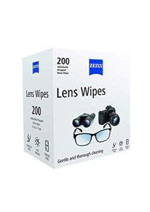 Zeiss Lingettes de nettoyage pour surfaces vitrées (lunettes/écrans/objectifs)–Lot de 200