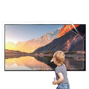 AIZYR Mat LCD Protection des Yeux Film Protecteur Anti Blue Light Protecteur D'écran TV Taux Anti-Reflet Jusqu'à 90% Soulager La Fatigue Oculaire De L'ordinateur,55 inch 1211X689mm