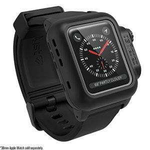 Catalyst Coque Anti-Choc Étanche Pour Apple Watch 38mm Series 3 & Series 2 (Noir Mat)