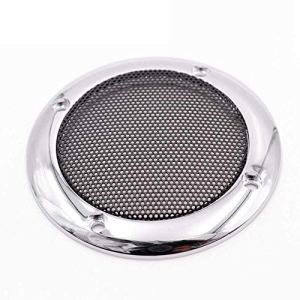 DANDELG Housse de Protection pour Caisson de Basses Audio de Voiture Tweeter Circle