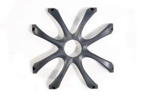 Kicker 08GL712 Grille carrée en Fonte 300 mm