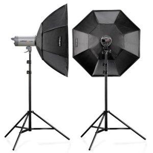 Kit studio walimex pro VC-400/400 + diffuseurs