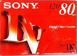 Sony DVM Cassette vidéo 80min (Lot de 5)