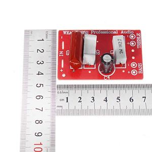 ywzhushengmaoyi WEAH-252 2 Voies diviseur de fréquence Haut-Parleur Crossover Audio Haute et Basse Son amélioration de la qualité 10pcs Module électronique Pièces