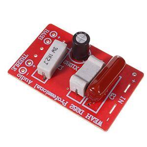 ywzhushengmaoyi WEAH-252 2 Voies diviseur de fréquence Haut-Parleur Crossover Audio Haute et Basse Son amélioration de la qualité 20pcs Module électronique Pièces