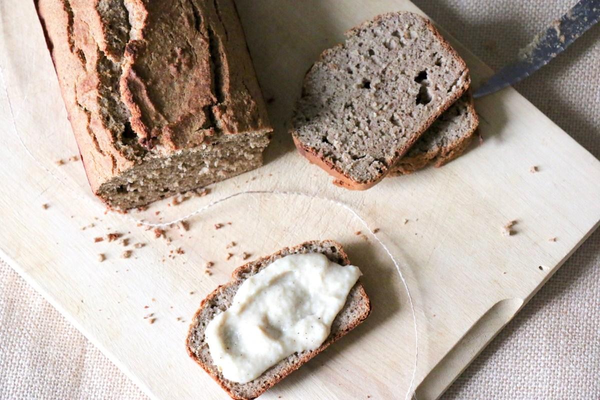Bread-cake sarrasin aux épices IG bas