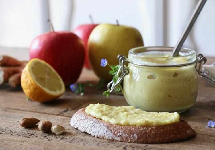 beurre de pommes végétal IG bas
