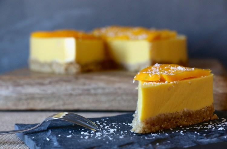 cheesecake mangue IG bas léger