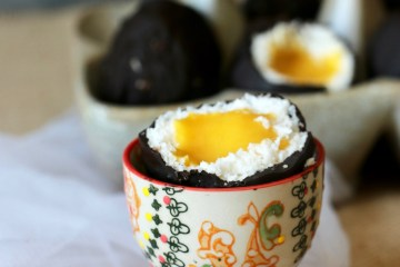 Oeufs de pâques chocolat IG bas coco mangue
