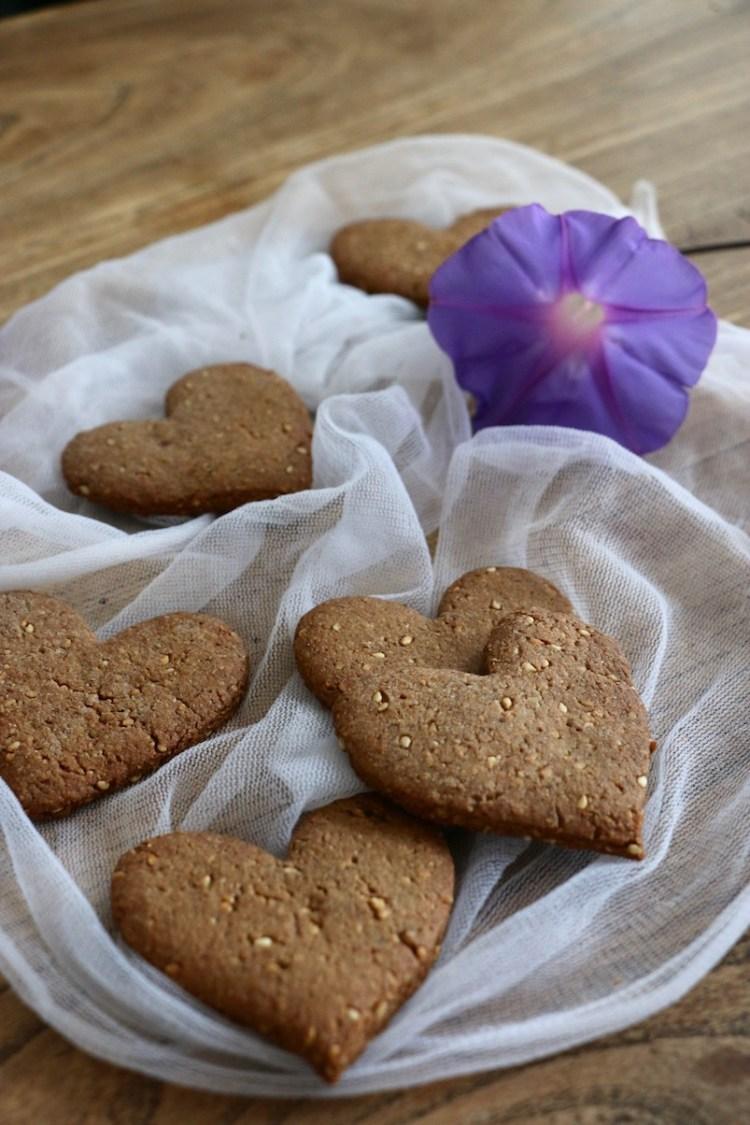 biscuits sarrasin-sésame