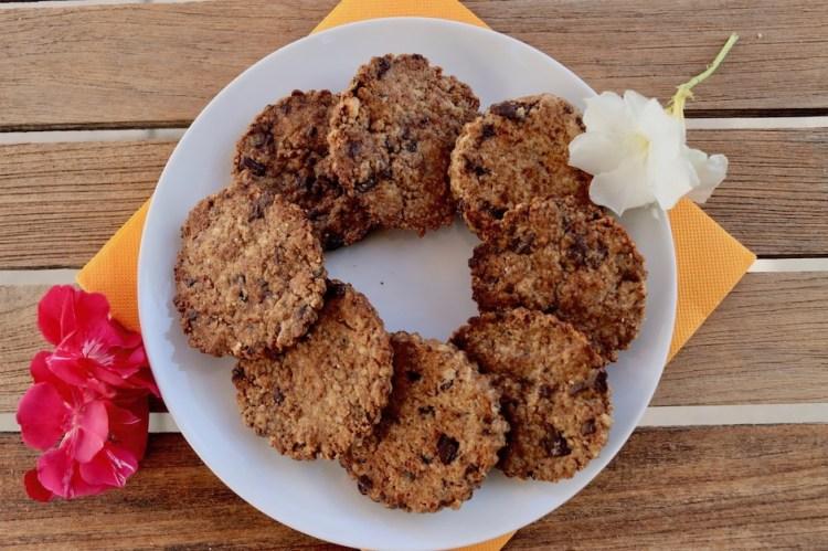 Biscuits seigle chocolat
