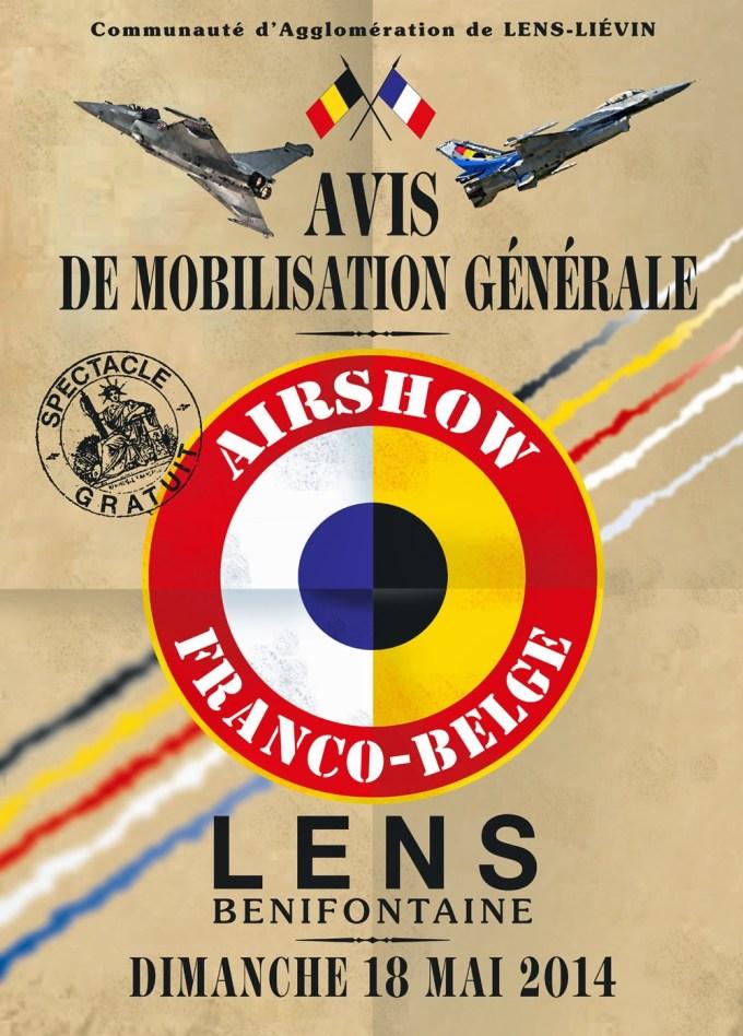 l'affiche officielle, réalisée par Pierre-André Cousin, peintre de l'Air