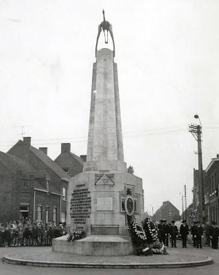 monument édifié à la gloire du capitane Guynemer à Poelkapelle