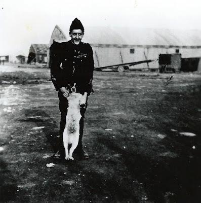 La dernière photographie du capitaine Georges Guynemer, prise le 10 septembre 1917