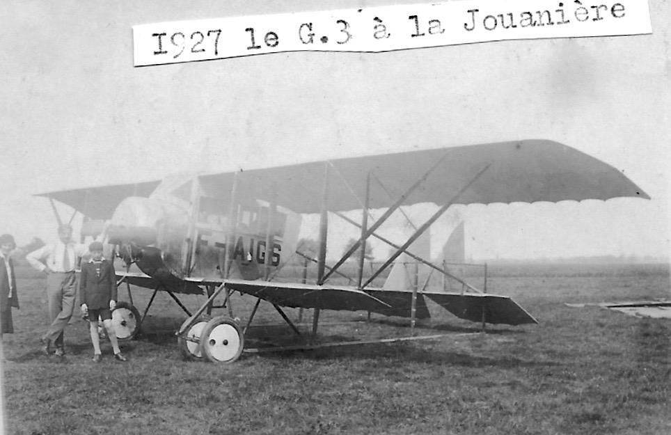 Caudron G.3 F-AIGS à cabine fermée @Claude Mirabel